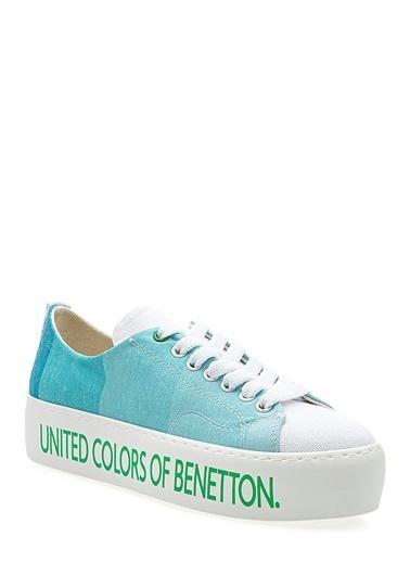 Benetton Bn30124  Kadın Spor Ayakkabı Turkuaz